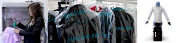 Pressto: Servicio de tintorería y lavandería