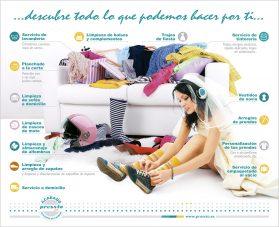 Diversificación de servicios de tintorería y lavandería