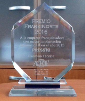 Pressto awarded by FrankiNorte